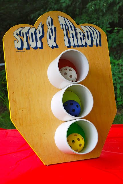 amazing amusements stop and throw